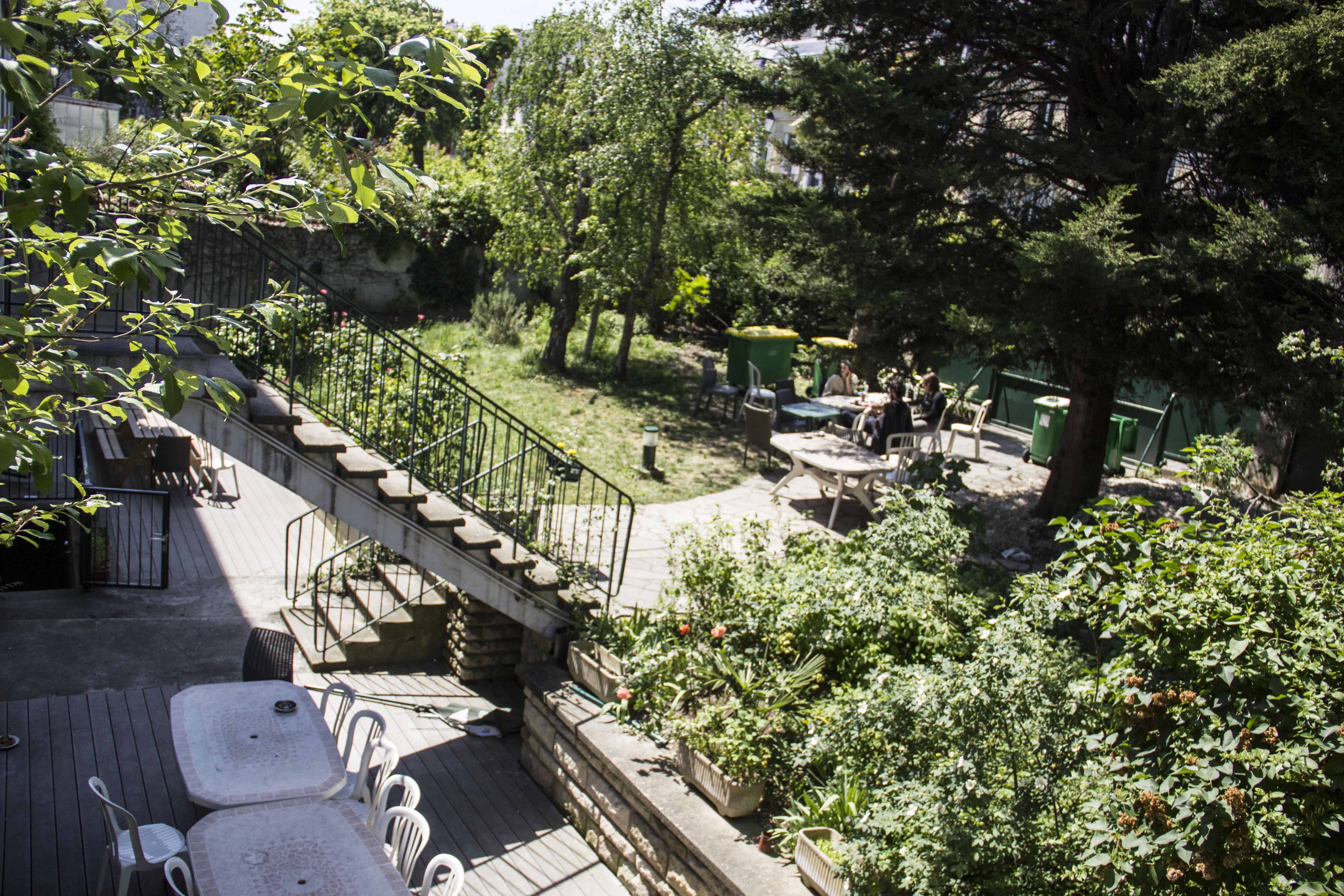 Un espace vert au sein de Paris